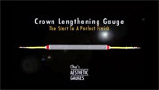 Chu's Crown Lengthening Gauge