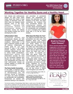 Perio-Cardio connection