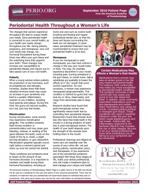 Perio Health and Women