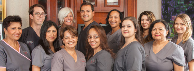 Staff and Periodontists at Perio NYC