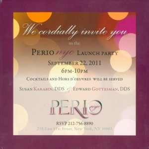 PerioNYC Launch