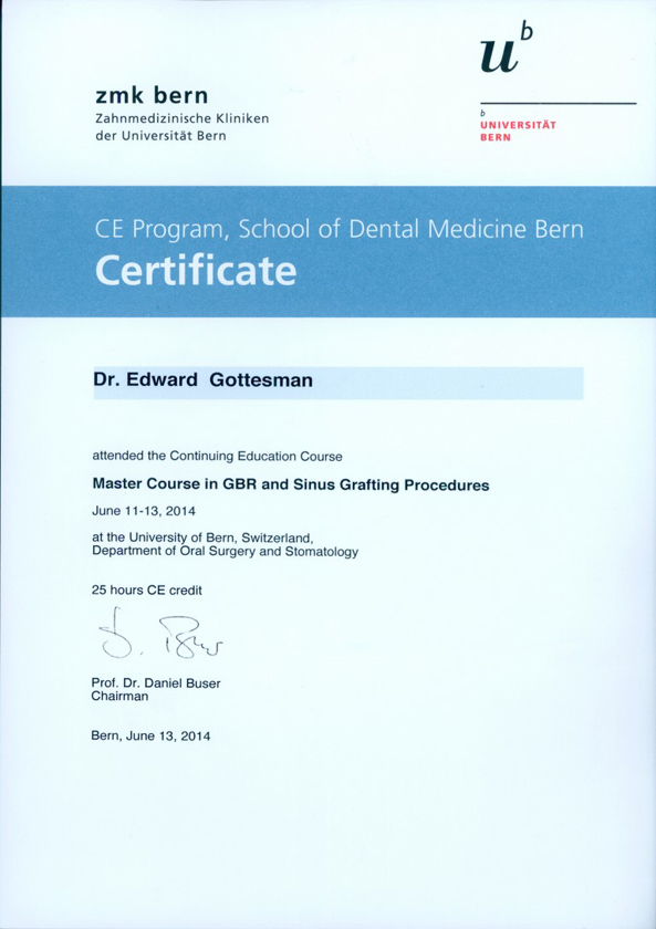 Certificate-GBR-and-Sinus-Grafting