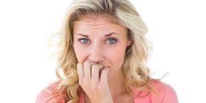 nervous patient with dental fear